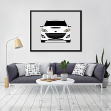 Mazda 3 BL 2nd Generation Print