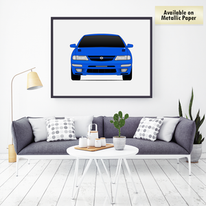 Nissan Maxima A32 from the Fast and the Furious Print