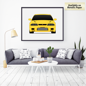 Nissan Skyline R33 GT-R from the Fast and the Furious Print