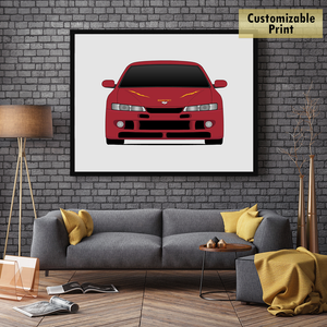 Nissan 240SX from the Fast and the Furious Print