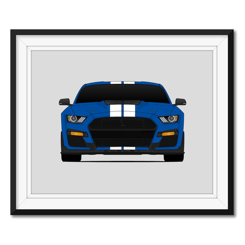 Shelby GT500 S550 Print (2020)