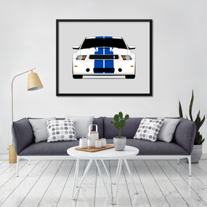Shelby GT350 Print (2011-2012)