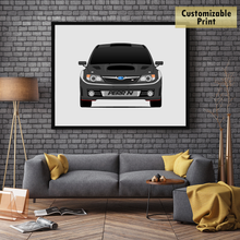 Subaru STI G3 from the Fast and the Furious Print