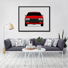 Toyota Celica GT A40, A50 Print (1977-1981, 2nd Generation)