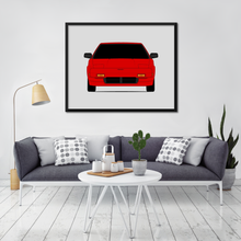 Toyota MR2 AW10 Print (1984-1989, 1st Generation)
