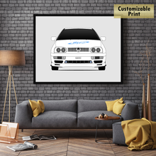 Volkswagen Jetta A3 1H from the Fast and the Furious Print