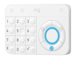 Ring Alarm Wireless Home Security 5 Piece Kit in White Works with Alexa