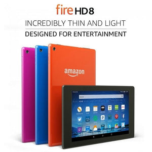 "Amazon Fire Tablet with Alexa 8"" HD Display, Wi-Fi, 6th Gen in Black"