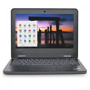 "Lenovo ThinkPad 11e Chromebook Celeron N2930 Quad-Core 1.83GHz 4GB 16GB eMMC 11.6"" Black"