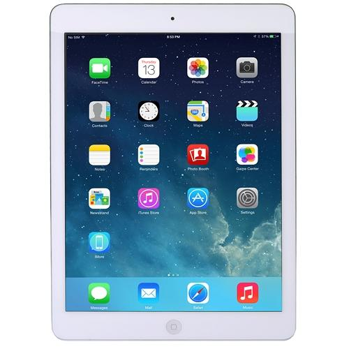 Apple iPad Air with Wi-Fi + Cellular 16GB - White & Silver - AT&T ME997LL/A