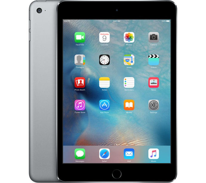 Apple iPad Mini 4 w/Retina Display Wi-Fi in Space Gray - 64GB & 128GB