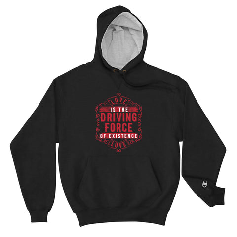 Love - The Emblem - Champion Brand Hoodie