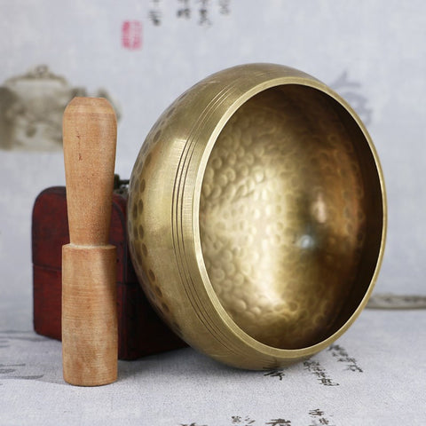 Tibetan Singing Bowl - Meditation Sound Therapy Chakra Singing Bowl