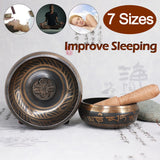 Hot Tibetan Singing Bowl - Handmade Brass