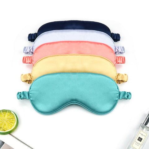 Women Imitation Silk Sleep Eye Mask