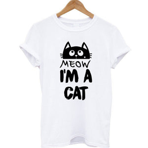 Open image in slideshow, I'm a Cat Meow T - Meow Collection