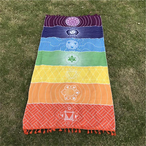 Open image in slideshow, 7 Chakra Healing Blanket