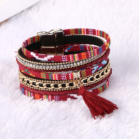 Fashionable Bohemian Colorful Bracelet