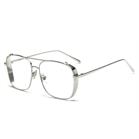 Square Clear Glasses
