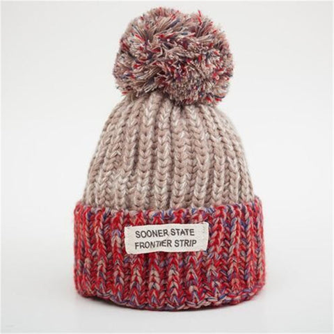 Vibrant Warm - Sweetness Wool Popom Winter Hat Collection