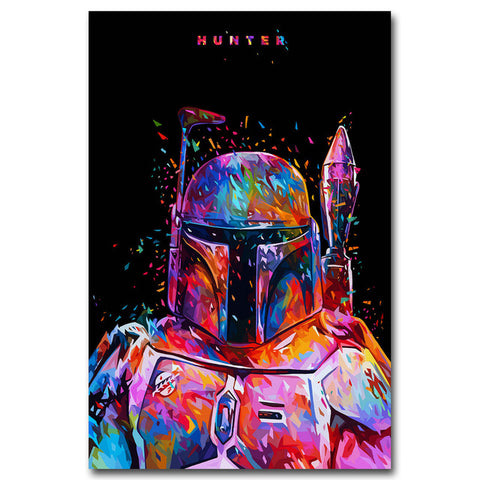 Star Wars 7 Canvas Poster Collection - Storm Trooper