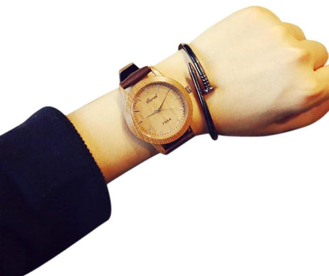 Male and Female Minimalist Quartz Watch