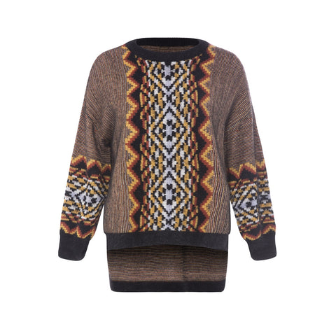 Tribal Knitted Sweater