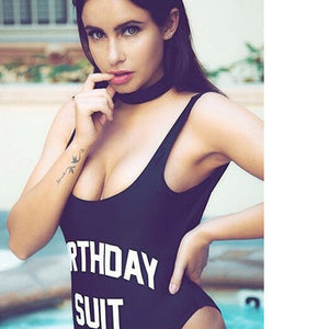Open image in slideshow, Birthday Suit - One Piece Love Collection