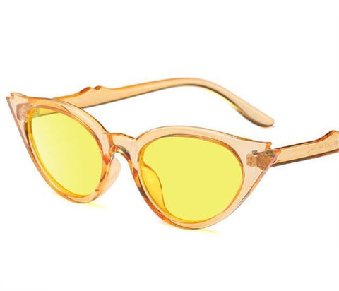 Double Sharp Cat Eye Sunglasses