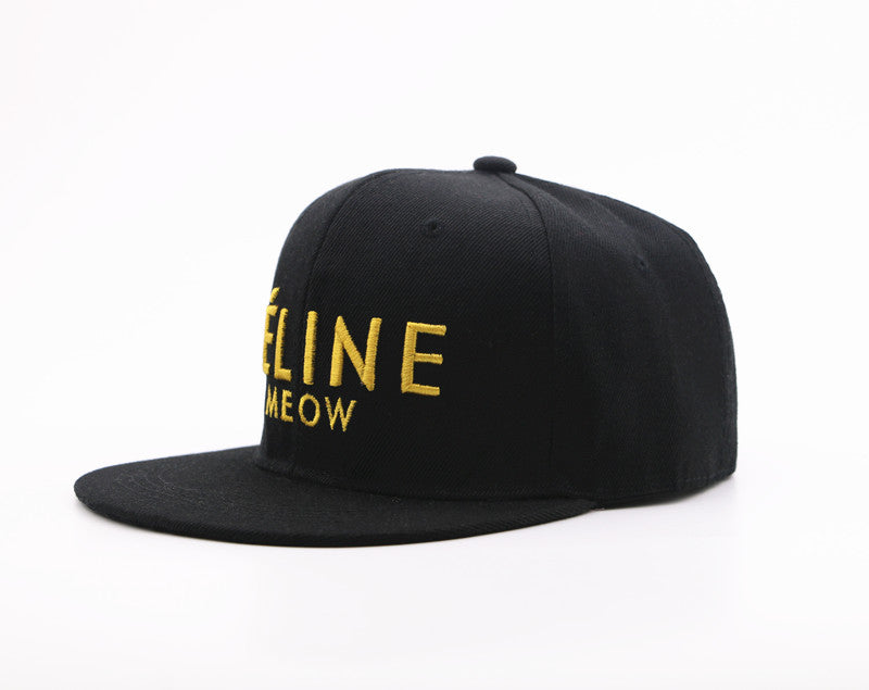 Féline Meow Snap Back Cap - Meow Collection