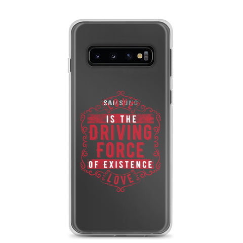 Love - The Emblem - (Samsung Clear Case)
