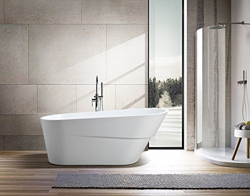 Freestanding Soaking Bathtub Acrylic 67""