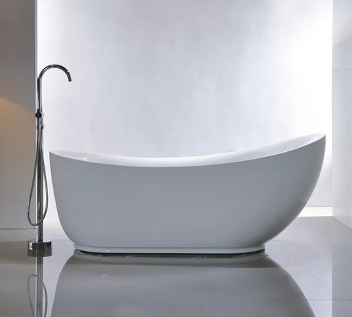 Freestanding Soaking Bathtub Acrylic 71""
