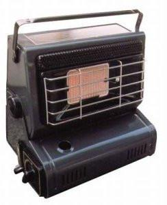 Bright Spark BS400 1-Piece 28 x 26.5 cm x 20 cm Powder Coated Steel Outdoor Heater, Anthracite