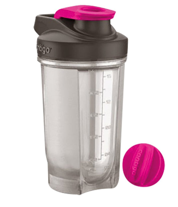 Contigo Shake and Go Fit Shaker - Neon Pink,20 oz