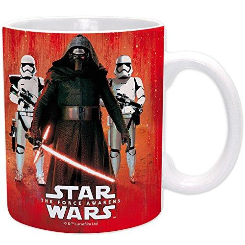 ABYSSE / BIOWORLD Star Wars Mug Kylo Ren and Troopers, Multi-Colour, 320 ml