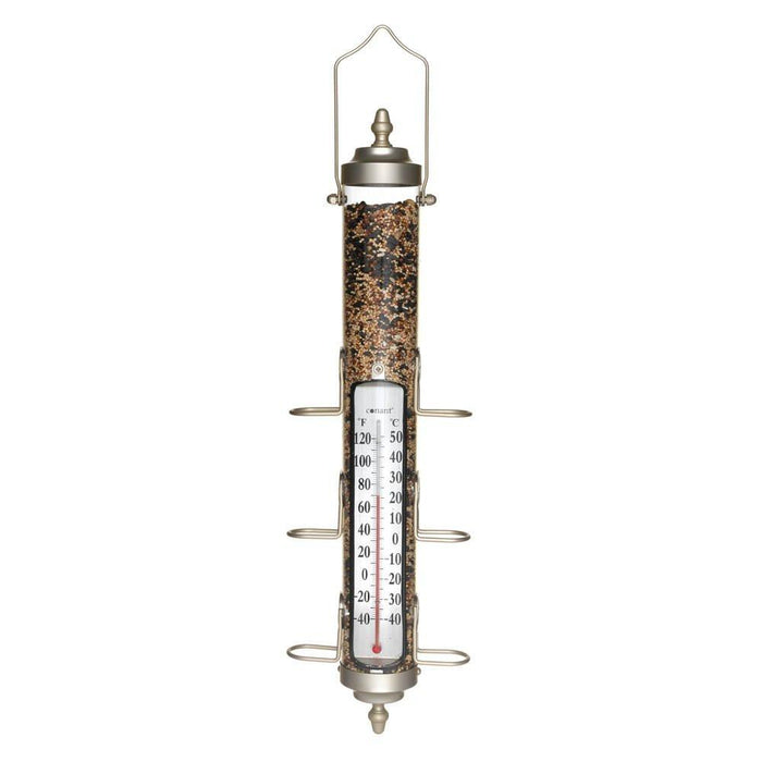 Conant BFT28SN Bird Feeder/Thermometer - Nickel