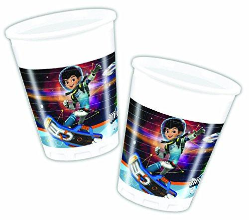 200ml Miles from Tomorrowland Plastic Cups, Pack of 8