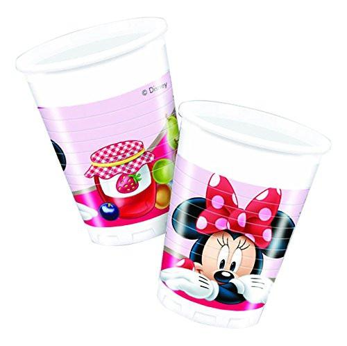 200ml Jam Packed Disney Minnie Mouse Plastic Cups, Pack of 8
