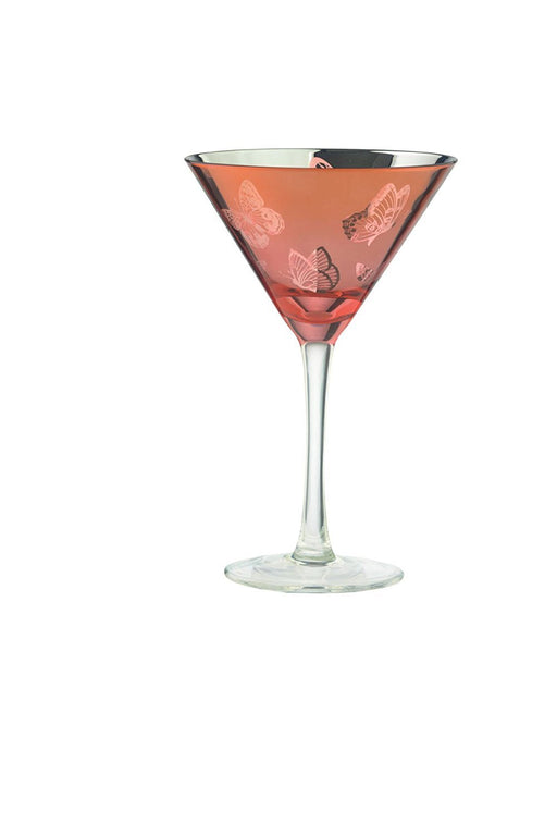 Artland Butterfly Martinis, Set of 2