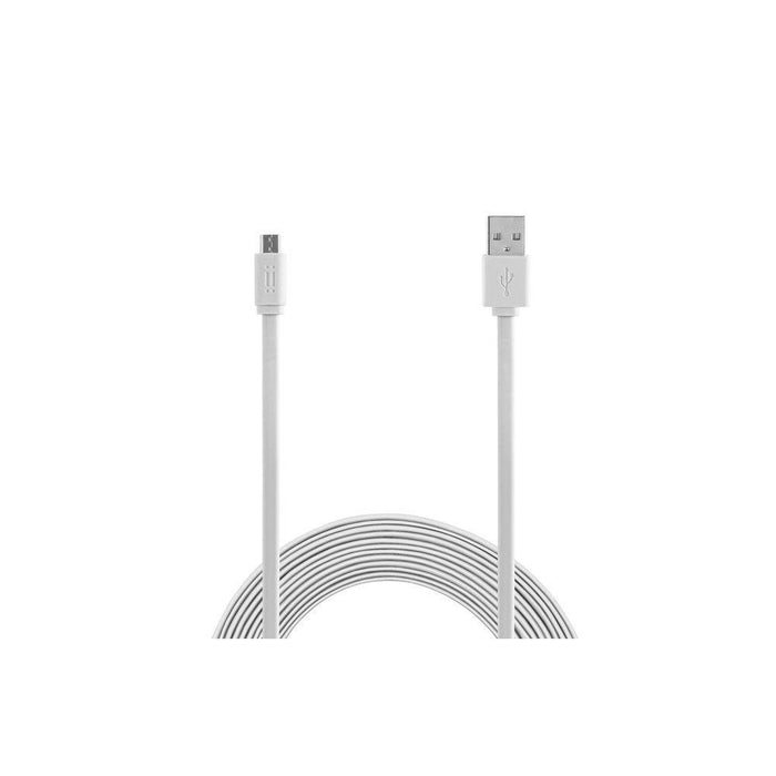 Aiino 1.5 m Samsung Micro USB to USB Flat Cable - White