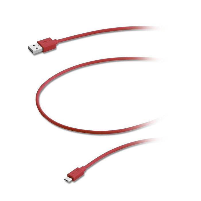 Aiino Samsung Micro USB to USB Reversible Cable - Red