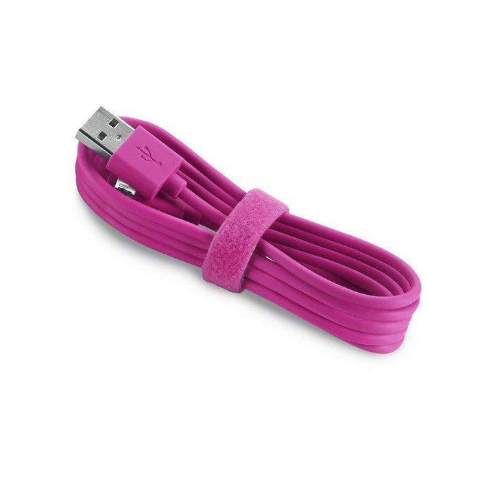 Aiino Micro USB to USB Reversible Charge and Sync Cable - Pink