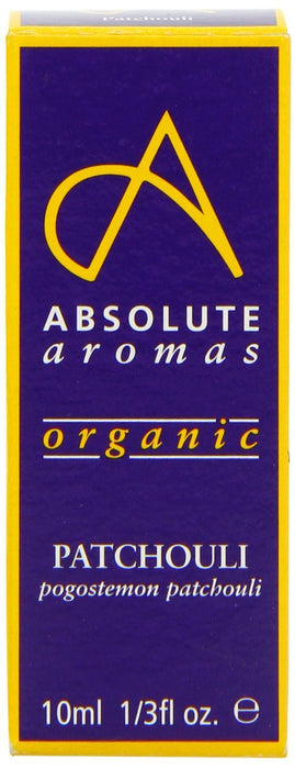 Absolute Aromas Organic Patchouli Essential Oil