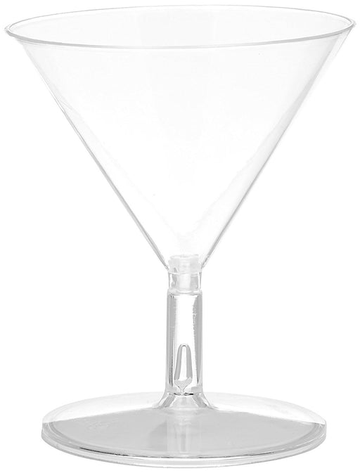 Amscan 59 ml 20 Barware Mini Martini Glasses