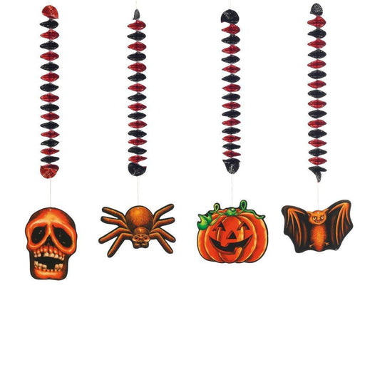 'SUSY CARD 11416526 Spirals Halloween - Pack of 4