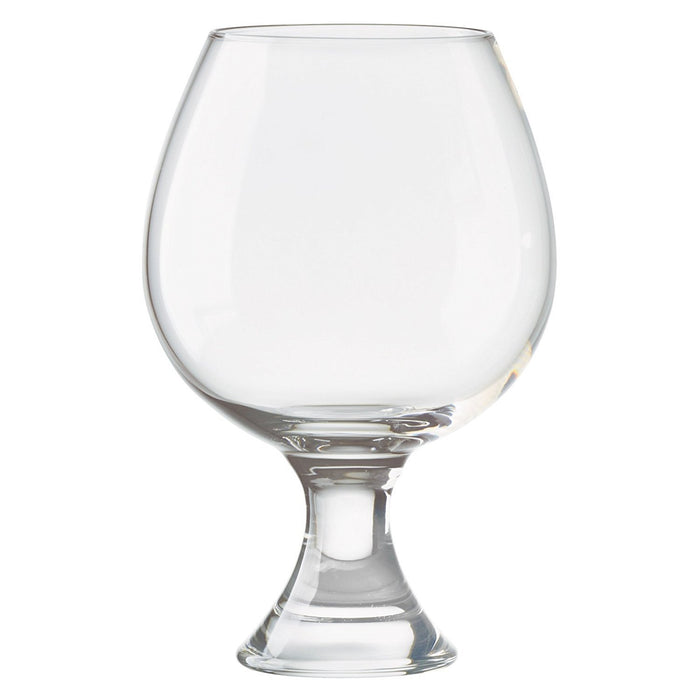 Anton Studio Designs Manhattan Brandy Glasses, Clear, Set of 2