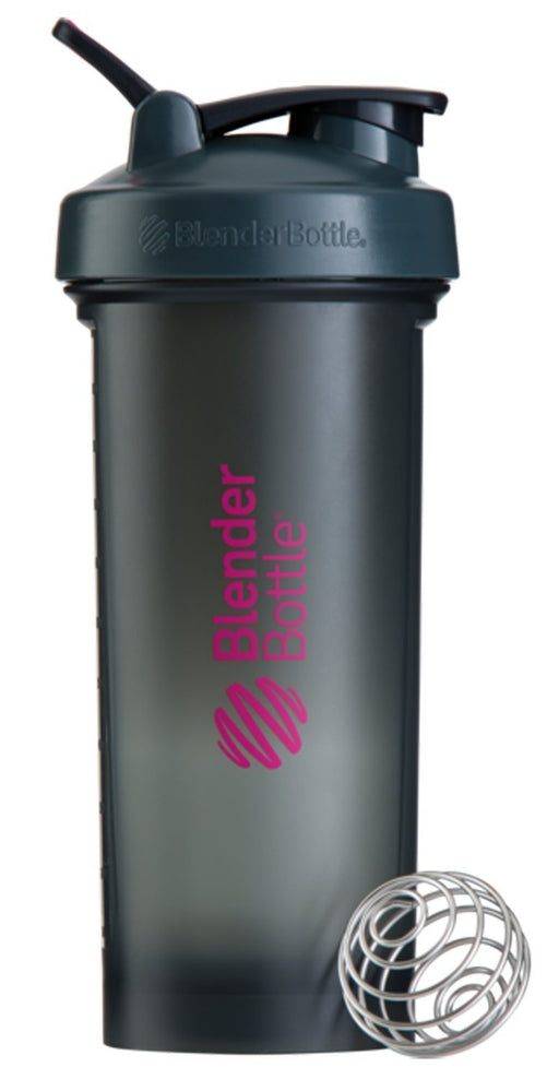 BlenderBottle Unisex Pro45 Shaker Cup, Grey/Pink, 45 Oz/1300 ml
