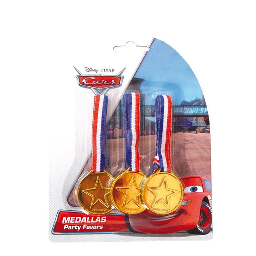 Cars – Blister Pack with 3 Medals (verbetena 014000609).