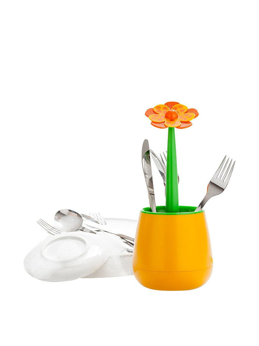 'Vigar Home escurrecubiertos lolaflor Orange White, Green, Orange ""